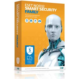 Купить ESET ESET NOD32 Smart Security Family