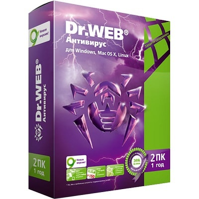 Купить Dr.Web Антивирус